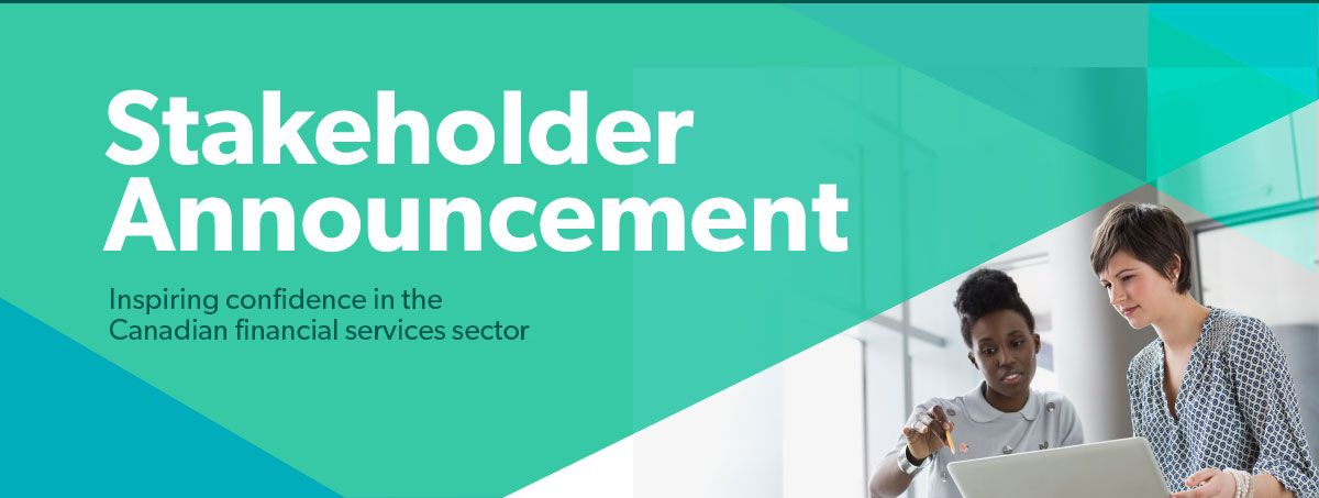 Stakeholder Announcement